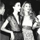 Pat Cleveland and Jerry Hall