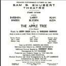 The Apple Tree - 1966 Broadway Musical - 450 x 490