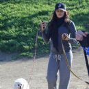 Jenna Dewan: hike with her dogs through Runyon Canyon in Los Angeles