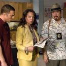 Lauren Velez As Lt. Maria Laguerta, Desmond Harrington As Joey Quinn And David Zayas As Angel Batista In The Fourth Season Of Dexter (2009) - 454 x 300