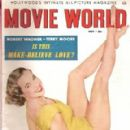 Mona Freeman - Movie World Magazine Cover [United States] (November 1953)