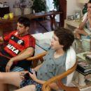 Marco Antônio Gimenez with his nephew Lucas Jagger - circa 2014