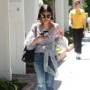 Vanessa Hudgens at Alfred's Cafe in Studio City