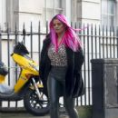 Kerry Katona – Out in London - 454 x 622
