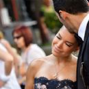 Sylvie Meis at Victoria Swarovski wedding in the San Giusto church in Trieste - 454 x 372