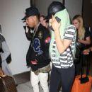 Kylie Jenner arrives at Los Angeles Int'l Airport September 17, 2015
