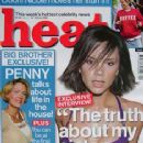 Victoria Beckham - Heat Magazine Cover [United Kingdom] (16 June 2001)