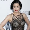 Dita Von Teese - AmfAR Cinema Against AIDS 2009 Benefit During The 62nd Annual Cannes Film Festival, 21.05.2009.