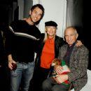 Douglas Ladnier with Elke and Ben Gazzara - 359 x 350