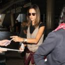 Alessandra Ambrosio Arrives on a Flight at LAX - 400 x 600