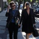 Kate Mara is spotted out and about with a friend in Los Angeles on March 31, 2016 - 403 x 600