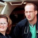 Sherry Stringfield and Anthony Edwards