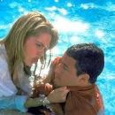 Adam Sandler and Bridgette Wilson