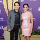 Martina McBride-April 1, 2012-47th Annual Academy Of Country Music Awards - Arrivals