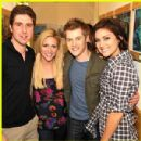 Brittany Snow and Lucas Grabeel
