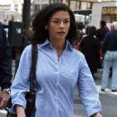 """Catherine Zeta-Jones - Films On The Set Of The Movie """"Rebound"""""""