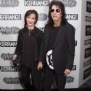 Alice & Sheryl Cooper attend the Relentless Energy Drink Kerrang! Awards at the Troxy on June 11, 2015 in London, England