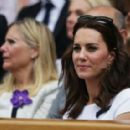 Prince William and Duchess Catherine at Wimbledon 2017 - 454 x 285