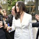 Monica Bellucci – Arriving at Vivement Dimanche TV show in Paris - 454 x 680