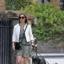 Pippa Middleton – Walking her dogs in London - 454 x 721
