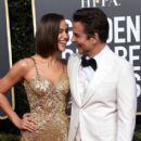 Irina Shayk and Bradley Cooper At The 76th Golden Globe Awards (2019) - 414 x 600
