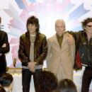 The Rolling Stones attends a press conference on April 7, 2006 in Shanghai, China. The Rolling Stones will hold their first-ever concert in mainland China on April 8 at the 8,500-seat Shanghai Grand Stage