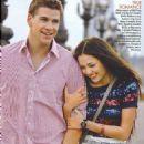 Miley Cyrus, Liam Hemsworth Teen Vogue Magazine April 2010