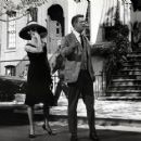 George Peppard And Audrey Hepburn in Breakfast at Tiffany's stills