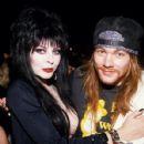 W. Axl Rose & Elvira - 428 x 594