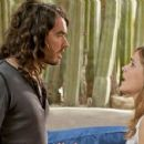 Russell Brand as Aldous Snow with Rose Byrne as Jackie Q in Universal Pictures' Get Him to the Greek.