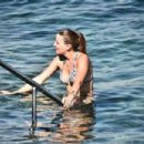 Gizem Karaca was spotted on a beach in Bodrum (July 13, 2016) - 454 x 303