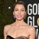 Jessica Biel : 75th Annual Golden Globe Awards