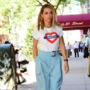 Rita Ora at her Hotel in London - 454 x 699