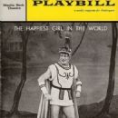 The Happiest Girl In The World 1961 Broadway Musical based on the Music Of Offenbach - 454 x 628