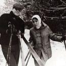 Andrei Konchalovsky and Natalya Arinbasarova