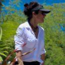 Julia Louis-Dreyfus in Red Bikini at the beach on the island of Lanai - 454 x 681