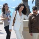 Andie MacDowell out in Cannes - 454 x 712