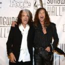 Aerosmith attends The Songwriters Hall Of Fame 44th annual Induction at the NY Marriott Marquis on June 13, 2013 - 454 x 330