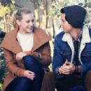 Lili Reinhart and Madchen Amick – On 'Riverdale' set in Vancouver - 454 x 303