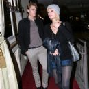 Paris Hilton With Model Boyfriend Alex Vaggo In Hollywood 2007-11-26