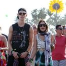 Vanessa Hudgens and Austin Butler at Day3 of the Coachella Valley Music and Arts Festival (April 14)