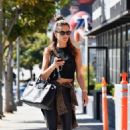 Alessandra Ambrosio – Arrives at a pilates class in Los Angeles