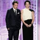 Lauren Graham and Matthew Perry