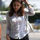 Rachael Cook - Leaving Cafe Med In West Hollywood, 2009-08-17