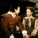 Maureen O'Hara and Cornel Wilde