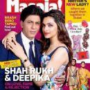 Shahrukh Khan and Deepika Padukone