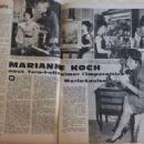 Marianne Koch - Festival Magazine Pictorial [France] (4 July 1961) - 454 x 329