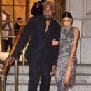 Kim Kardashian and Kanye West – Arrives at Cher Musical in New York - 408 x 612