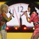 Dolly Parton performs during the 51st Academy of Country Music Awards at MGM Grand Garden Arena on April 3, 2016 in Las Vegas, Nevada