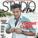 Vincent Cassel - Studio Cine Live Magazine Cover [France] (October 2015)